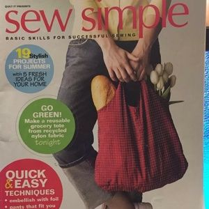 Sew Simple Volume 9 Basic Skill For Successful Sew